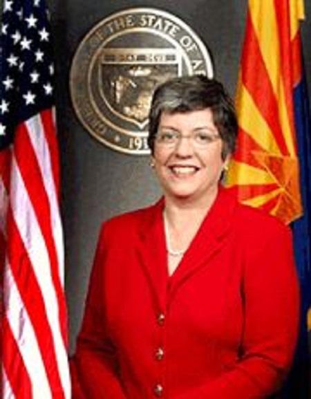 AZ Governor Janet Napolitano