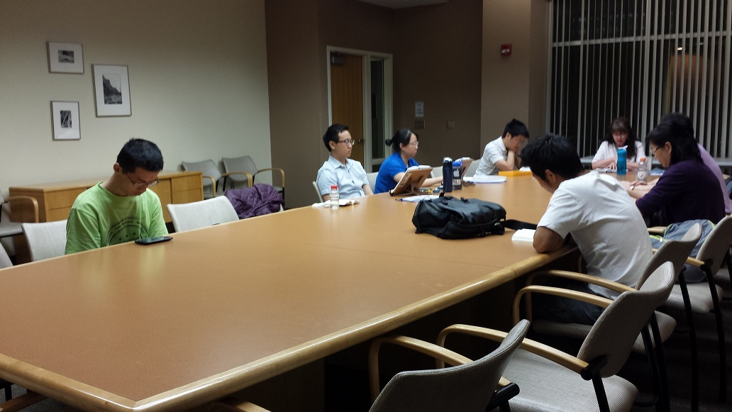 Falun Dafa Club Group Study & Sharing at UA, Tucson, Arizona