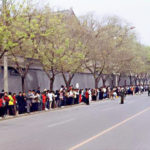 Falung Gong peaceful appeal on Arpil 25, 1999.