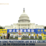 2018 DC Rally to  End Persecution of Falun Gong in China