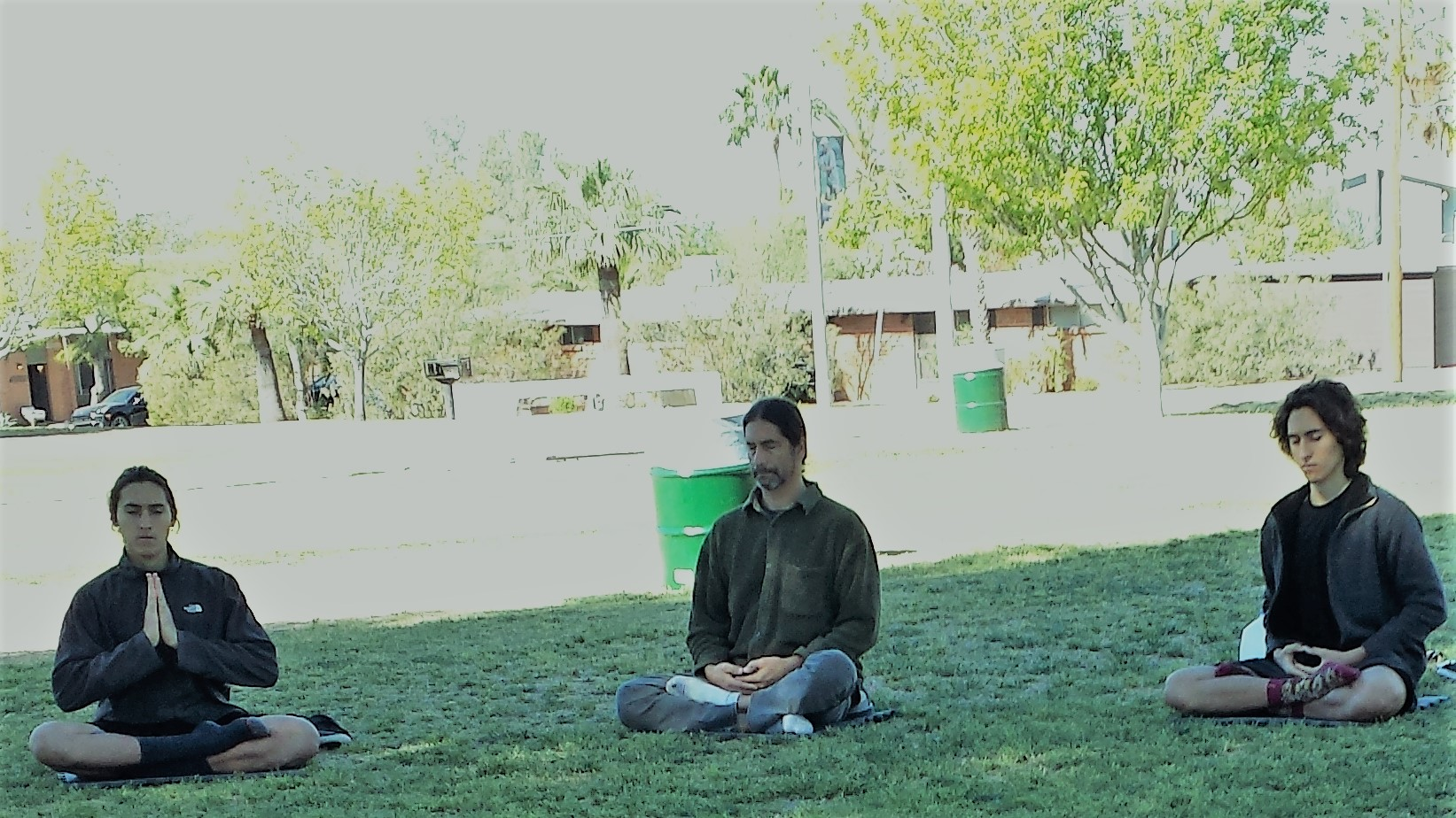 Falun Dafa Exercises Himmel Park Tucson Arizona April 30, 2017