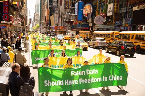 Falun Dafa Marks 25 Years With Grand Parade in Manhattan, New York City
