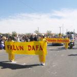 Falun gong at Navajo Indian Fair